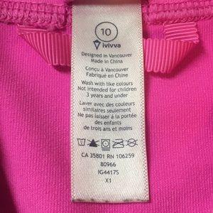 Ivivva Jackets & Coats - Ivivva pink sports jacket